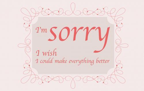 Sorry Wish
