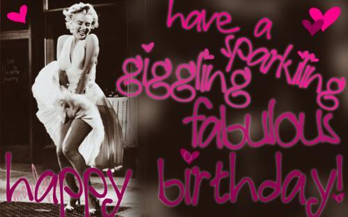 Marilyn B'day