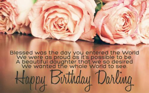Birthday Darling
